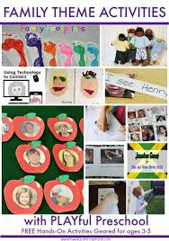 17 best images about my family theme on preschool
