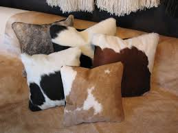 Cowhide Pillows Bradley U0027s Furniture Etc Cowhide Rugs And Accessories