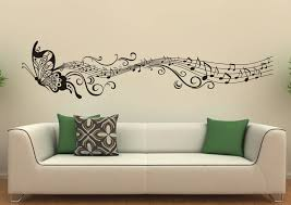 Music Note Home Decor Home Decoration Delightful Wall Musical Notes Painting With White