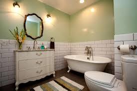 seashell mirror cottage bathroom phoebe howard green bathroom