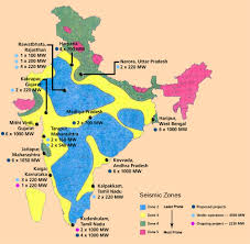 India Regions Map by India Hazard Profile Civil Services Aptitude Test
