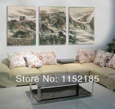 Wall Paintings For Living Room Online Get Cheap Great Wall Painting Aliexpress Com Alibaba Group