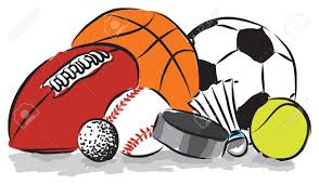 cartoon clipart sports ball pencil and in color cartoon clipart