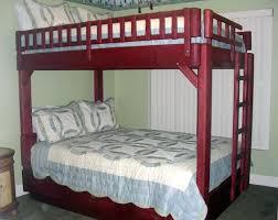 Wooden Bunk Beds Forever Redwood - Queen over queen bunk bed