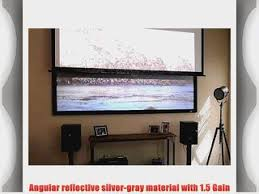 ambient light rejecting screen proscreens 170 84 x 150 matte white projection screen material