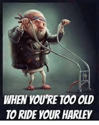 Harley Meme - when youre too old to ride your harley meme on me me