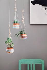 Diy Hanging Planter by 452 Best Diy With Plants Images On Pinterest Plants Flowers And
