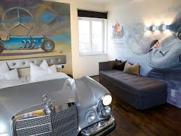 V8 Hotel Stuttgart by This German Hotel Lets You Sleep In A Mercedes Photos Condé