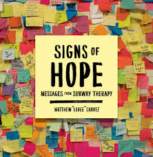 signs of hope messages from subway therapy matthew