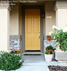 Exterior Door Paint Colours Front Door Paint Modern Masters Cafe Page 2