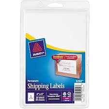 avery 5292 white laser inkjet shipping labels with trueblock 4