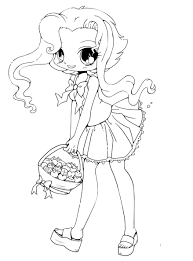 chibi coloring page free coloring book 8291