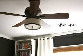 Diy L Shade Home Lighting 32 Drum Shade Ceiling Fan Ceiling Fan With Drum