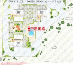 Podium Floor Plan by Centadata Hoi Tak Gardens