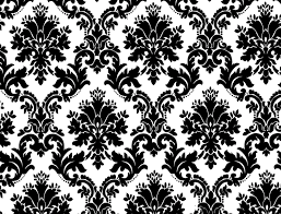 Black Damask Wallpaper Home Decor by Black And White Wallpaper Designs My Blog