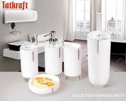 Amazon Bathroom Accessories by Acrylic Bathroom Accessories Collection Diamond White From