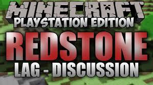 minecraft ps3 redstone lag discussion w only1gam3r minecraft