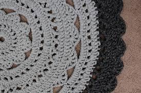 Crochet Tshirt Rug Pattern Crochet T Shirt Yarn Rug