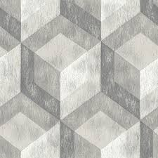 peel and stick vinyl wallpaper shop nuwallpaper 30 8 sq ft grey vinyl wood peel and stick wallpaper