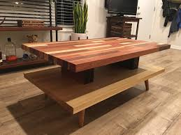 butcher block coffee table album on imgur