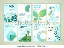 design flyer layout nature healthcare brochure cover design flyer stock vector 2018
