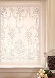 French Lace Kitchen Curtains The Downton Abbey Collection By Heritage Lace Cotton Rich