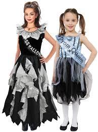 girls zombie prom queen costume teen halloween fancy dress