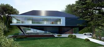 hillside home designs hillside house german home by 3deluxe in exterior e architect