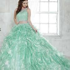 quinceanera dresses 2016 mint green lace 2 quinceanera dresses illusion