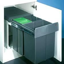 poubelle cuisine 40 litres poubelle cuisine encastrable sous evier agracable poubelle cuisine