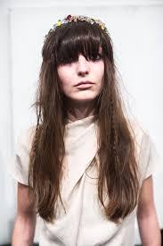 Frisur Lange D Ne Haare by Frisuren Mit Pony Frisur Ideen 2017 Hairstyles