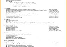 Resume Examples No Experience College Students by Resume With No Work Experience College Student