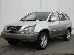 toyota lexus harrier 1998 stock list syousai toyota harrier 3 0 mcu10 for sale japan gxe10