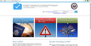 smart traveler images Register your trip with the us department of state png