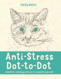 anti stress dot to dot beautiful calming pictures to complete