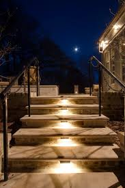 Stair Lights Outdoor Louisville Outdoor Steps Stairs And Landscape Lighting