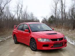 lancer evo red automotive trends 2006 mitsubishi lancer evolution ix mr