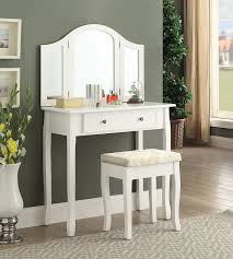 amazon com roundhill furniture sunny white wooden vanity make up