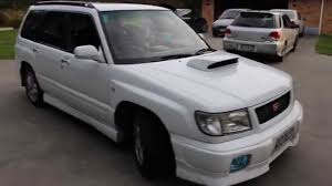 subaru forester modified 1998 subaru forester stb startup and idle youtube
