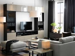 ikea strind coffee table a large tv storage combination in black brown with beige high