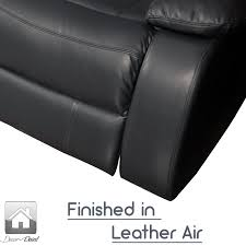 Leather Recliners South Africa New Luxury Hollywood Black Leather Air 2 Seater Home Theater