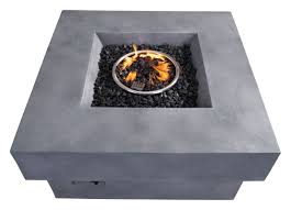 dcor design concrete fiber propane fire pit table u0026 reviews wayfair