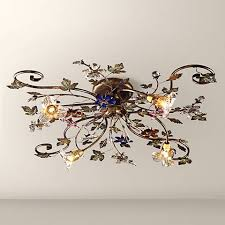 Light Fixture Collections Mica Collection 12 Wide Ceiling Light Fixture 91579