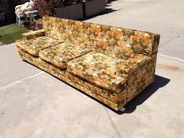 vintage 70 u0027s cut velvet sofa modern flamingo inventory