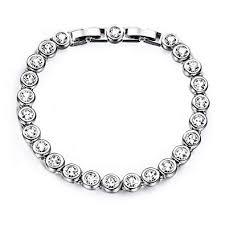 swarovski gold plated bracelet images Yalong tennis bracelet for women jewelry with jpg