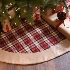 tartan plaid christmas tree skirt kirklands