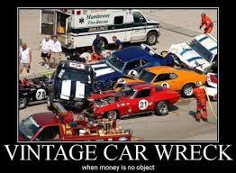 Car Wreck Meme - vintage car wreck car humor