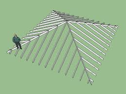 Hip Roof Design Calculator Truss Plugin Extension Extensions Sketchup Community