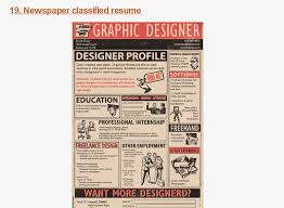 25 Examples Of Creative Graphic by Creative Cv U0027s Fms Work Experience