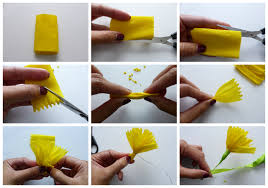 Paper Flower Diy Project Autumn Wedding How To Make Paper Flowers Part 1